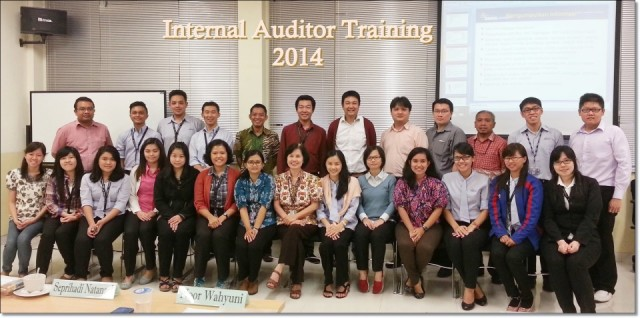 Pelatihan Auditor Internal 2014 [13 - 14 Februari 2014]