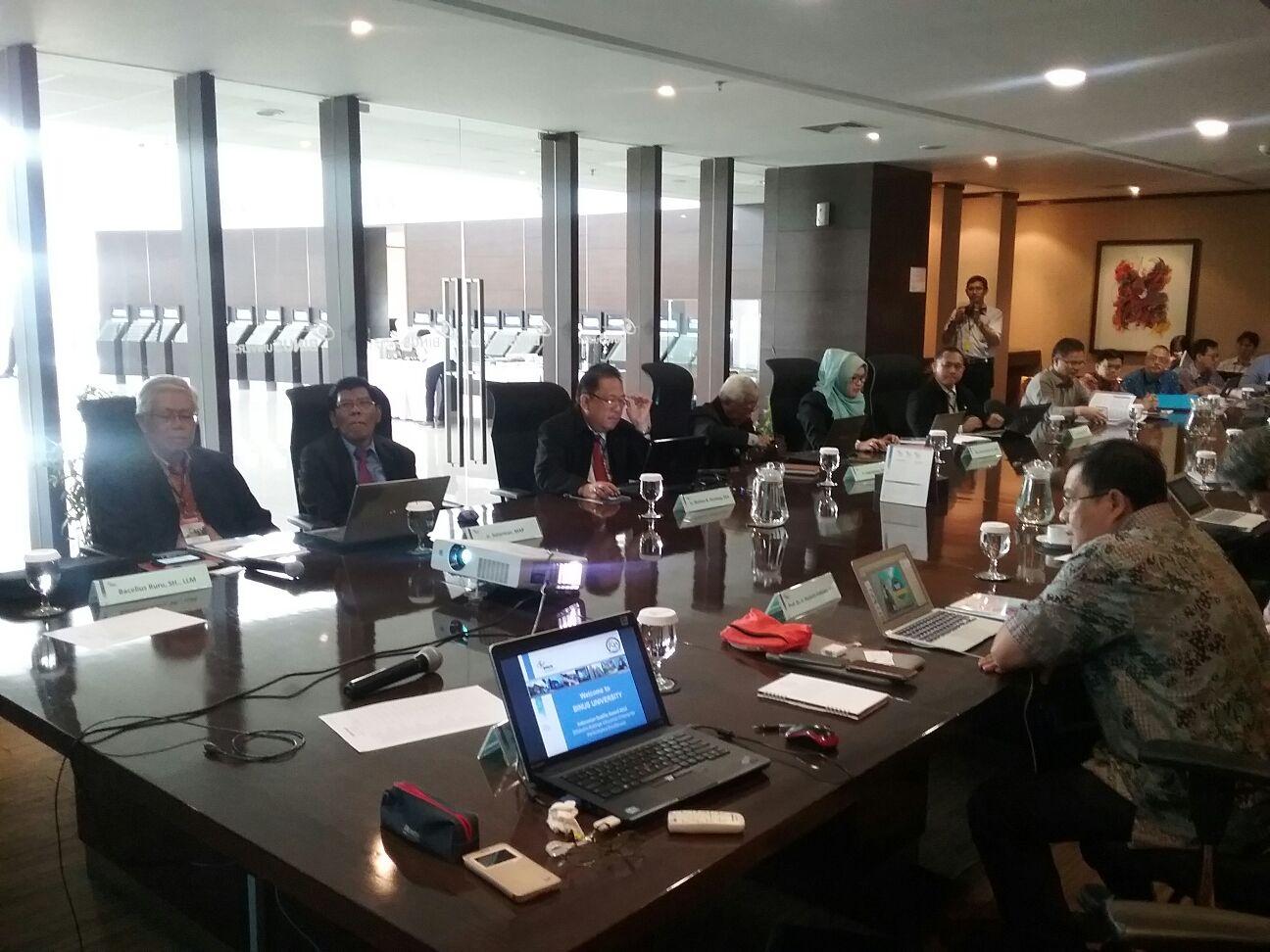 Foto opening meeting kegiatan Assesment IQA 2015