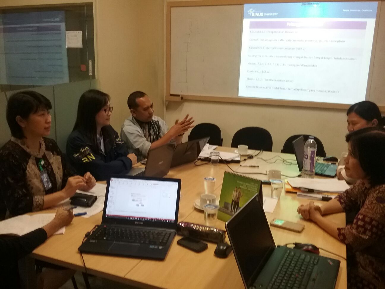 Kegiatan Assesment IQA 2015
