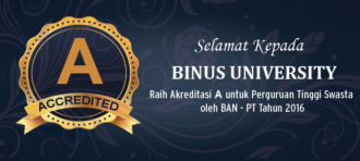 Audit Resertifikasi ISO 9001:2008 – Binus University 2016