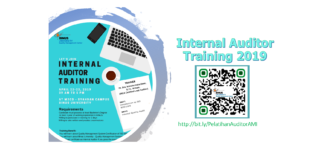 Pelatihan Auditor Internal 2019