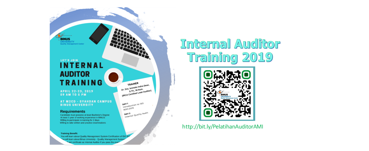 Pelatihan Auditor Internal 2019